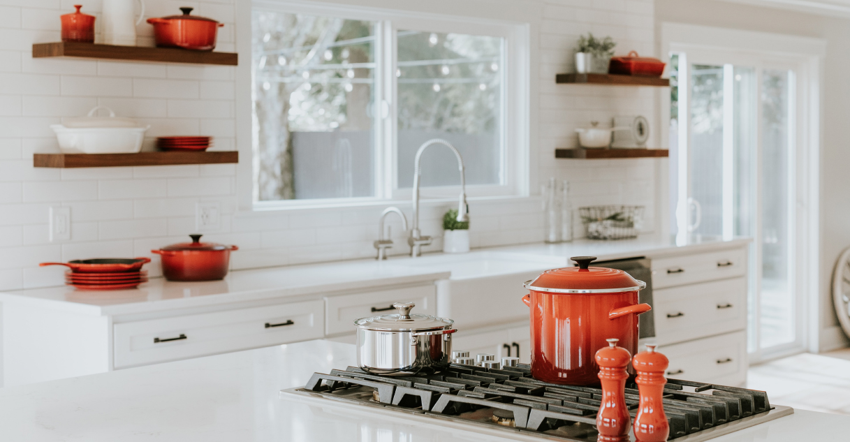 Clean Bright Kitchen